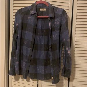 Hollister Acid Wash Flannel